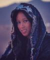 Burning Man Reversible Sequin Hood