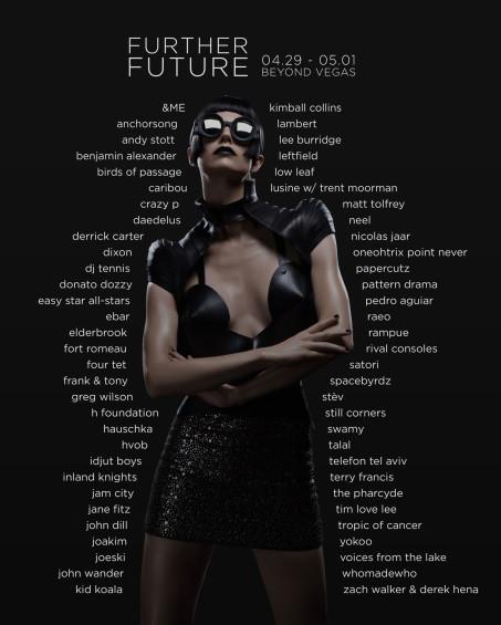 Further Future 002 lineup