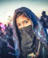 Burning Man Sequin Ninja