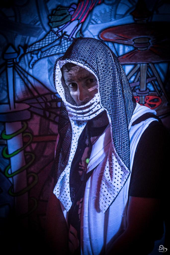 Shaolin Assasin hood by Fringe & Epaulette