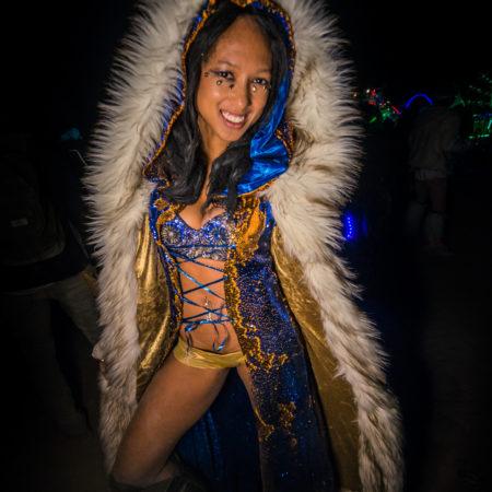 Fabulous Winter Coat sequins and faux fur
