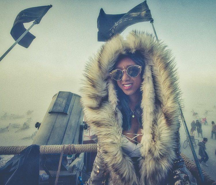 Furry Burning Man Coat