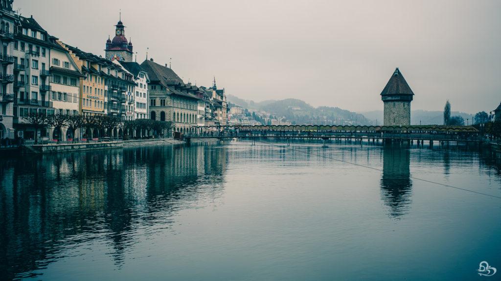 Lucerne Switzerland fall photo