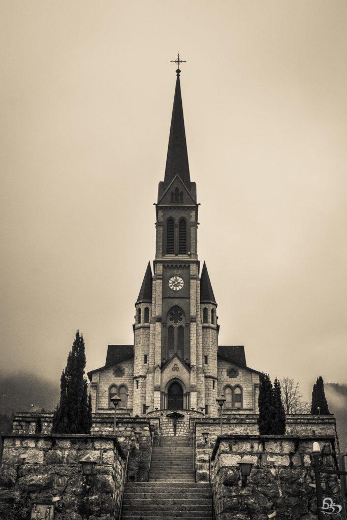 Lungern Switzerland Gothic Church photo