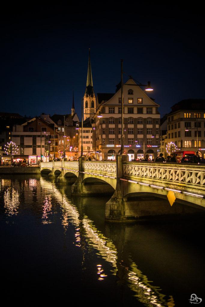 Old Town Zurich at Night