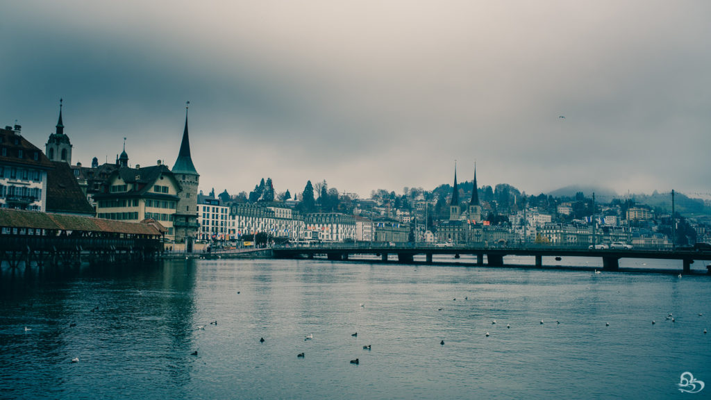 Luzern Switzerland Photo old town