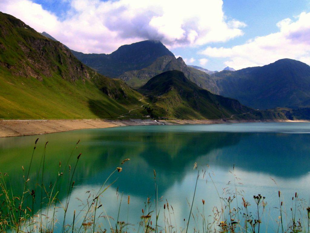 Lago Ritom lake switzerland summer