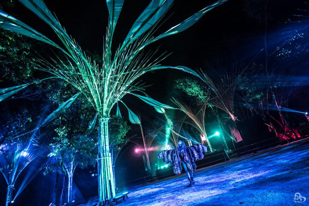 wonderfruit festival techno stage lasers