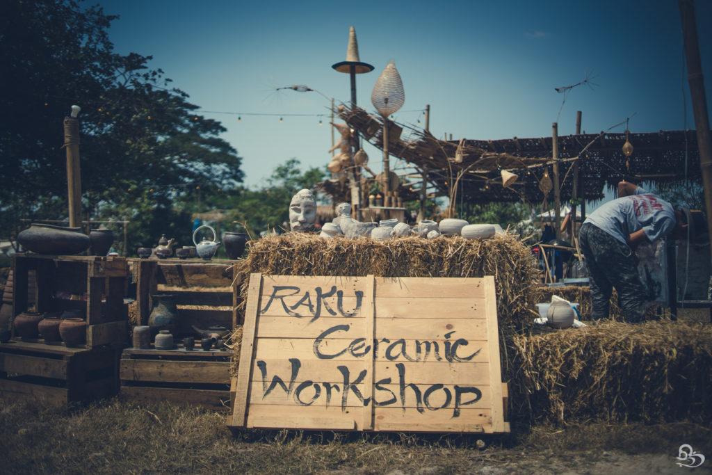 cereamics workshop wonderfruit festival pattaya