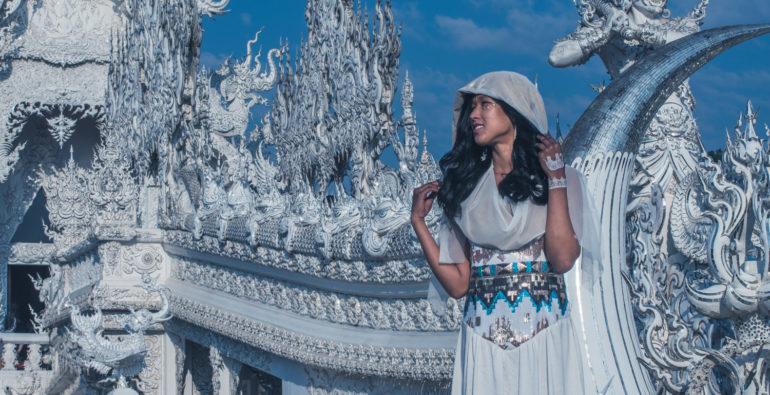 Wat Rong Khun chiang rai white temple thailand