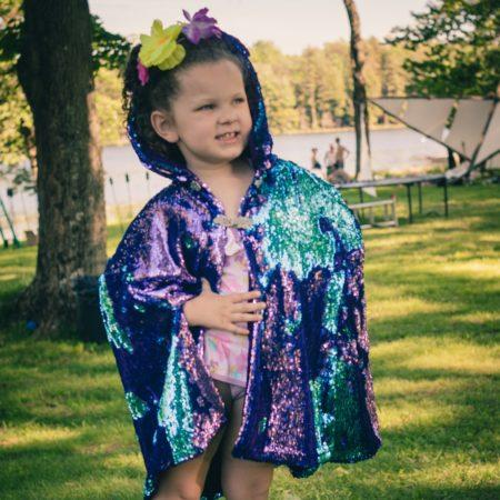 kid's sequin festival costume